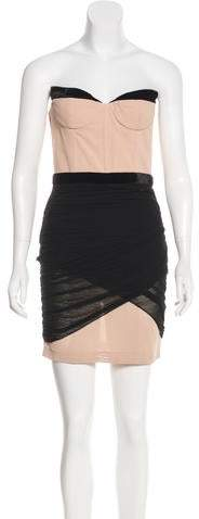 Alexander Wang Strapless Mini Dress
