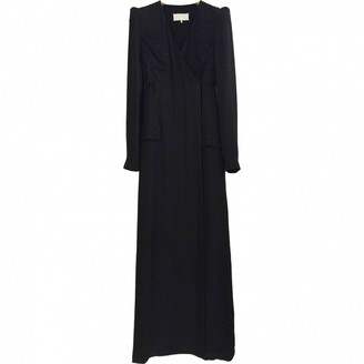Maison Margiela Navy Silk Dresses