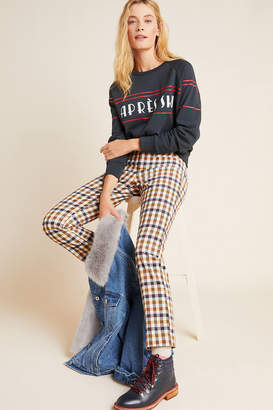 Anthropologie Essentials By The Essential Skinny Kick Flare Corduroy Pants