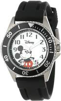 Disney Kids' W000507 Mickey Mouse Honor Rubber Strap Watch