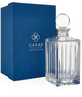 Carrs of Sheffield Linear Cut Spirit Decanter