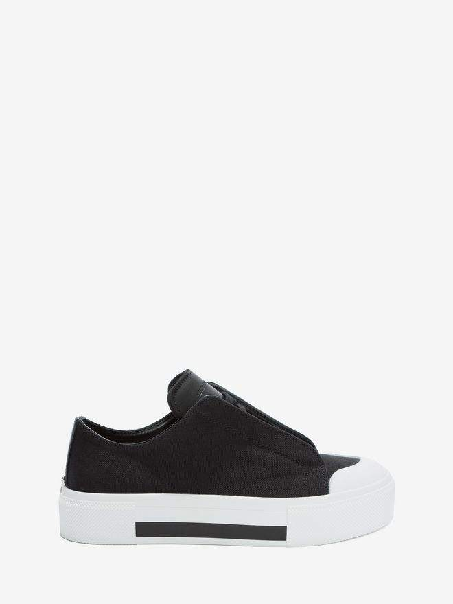 Alexander McQueen Low Cut Lace Up Sneakers