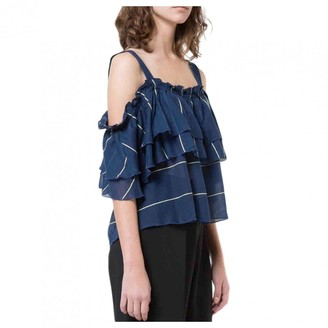 Lemlem Blue Cotton Top for Women