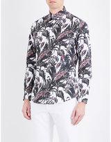 Salvatore Ferragamo Botanical Floral-print Cotton Shirt