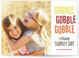 Minted Gobble Gobble Thanksgiving Cards