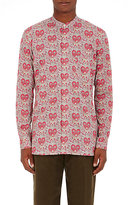Paul Smith Men's Paisley Poplin Shirt-ORANGE