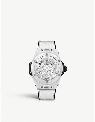 Hublot 415.HX.2027.VR.MXM19 Big Bang Unico Sang Bleu ceramic watch