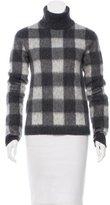 Balenciaga Gingham Turtleneck Sweater