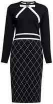 Chloé Rumour London Bow Jacquard Knitted Dress