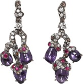 Arunashi Purple Sapphire Branch Earrings
