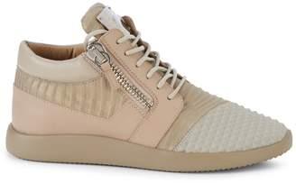 Giuseppe Zanotti Leather Mid-Top Sneaker