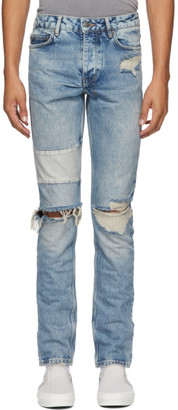Ksubi Blue Chitch Jinx Remix Jeans