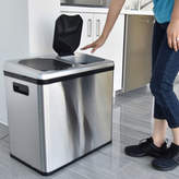 iTouchless Sensor 16-Gal. Recycler/Trash Can