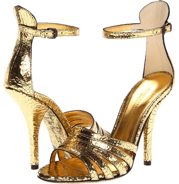 Bottega Veneta 331982VHB40 (Yellow Gold) - Footwear