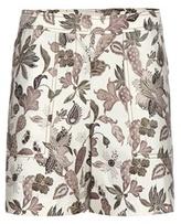 Tory Burch Mikado wool and silk-blend shorts