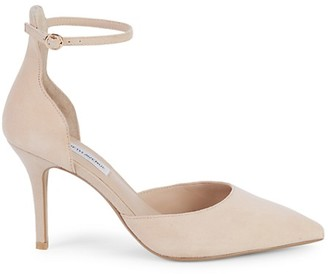 Nude Ankle Strap Pump   Shop the world