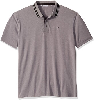 Calvin Klein Golf Men's Relaxed Madison Polo Shirt