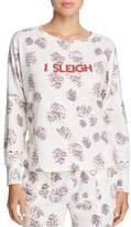 Honeydew I Sleigh Pajama Top