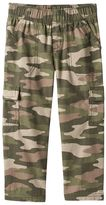 Jumping Beans® Camouflage Printed Canvas Cargo Pants