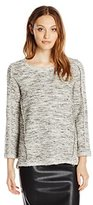 Nic+Zoe Women's Shimmering Shadows Top