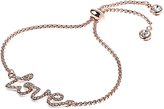 Adele Marie Cubic Zirconia Pave Love Bracelet
