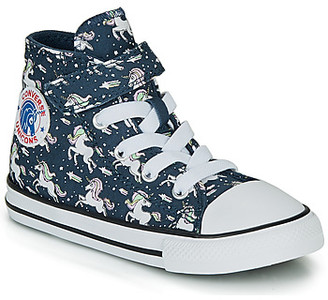 Converse CHUCK TAYLOR ALL STAR 1V UNICONS HI girls's Shoes (High-top Trainers) in Blue