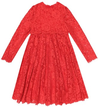 Dolce & Gabbana Kids Lace dress