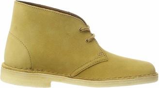 Clarks Women's Desert Boots-26138224 Beige (Oak Suede ) 5.5 UK(39 EU)
