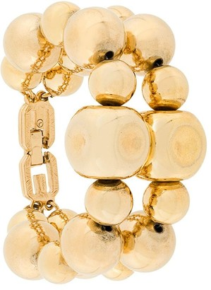 Givenchy Pre-Owned double ball bracelet
