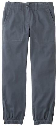 L.L. Bean Women's Signature Washed Twill Elastic Cuff Pants