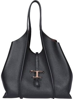 Tod's Timeless Top Handle Shopping Bag