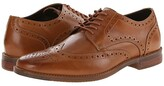 Rockport Style Purpose Wingtip (Tan) Men's Lace Up Wing Tip Shoes