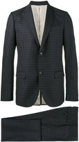 Gucci dotted suit - men - Cupro/Wool - 46