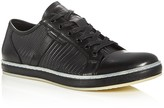 Kenneth Cole Brand Wagon Embossed Lace Up Sneakers