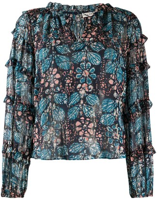 Ulla Johnson Roma floral-print blouse