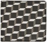 Pierre Hardy Multicolor Canvas Cube Wallet