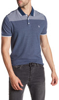 Original Penguin Engineered Jacquard Heritage Slim Fit Polo