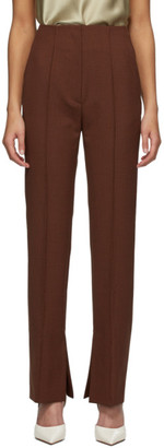 Nanushka Red Vera Trousers