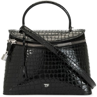 Tom Ford Padlock Detail Zipped Tote