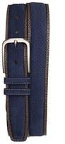 Mezlan Men's 'Fuji Parma' Suede & Leather Belt