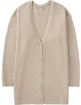 Uniqlo Women Fluffy Yarn Lounge Cardigan (Long Sleeve)
