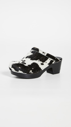 NO.6 STORE Old School Mid Heel Clogs