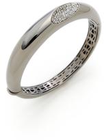 Roberto Coin Capri Plus Diamond Concave Dome Bracelet
