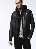 Diesel DieselTM Leather jackets 0QAPD - Black - S