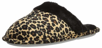 Aerusi Women's Leopard Tartan Slipper 8 Standard Width US