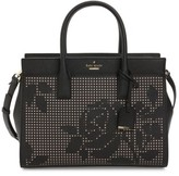 Kate Spade Cameron Street - Candace Perforated Leather Satchel - Black