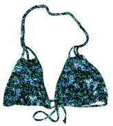 Tori Praver Floral Print Swimsuit Top w/ Tags