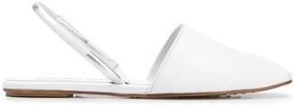 Pedro Garcia Closed Toe Flat Sandals
