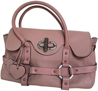 Luella Pink Leather Handbags