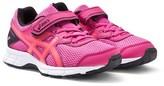 Asics Pink Gel Galaxy 9 Velcro Trainers